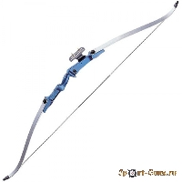 Лук рекурсивный Олимпик (голубая ручка) 30lbs