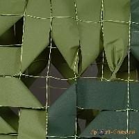 Сеть маскировочная Стандарт (светло-зеленый, темно-зеленый) (3*3 м) (на сетевой основе)