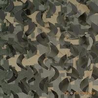 Сеть маскировочная Пейзаж Полынь3D(светло-зеленый, серый, светло-серый) (2,4*3 м)
