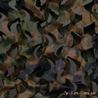 Сеть маскировочная Пейзаж Лес 3D (зеленый, коричневый) (2,4*3 м)