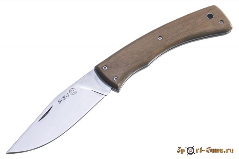 Нож НСК-3  складной  Кизляр  (дерево-орех)