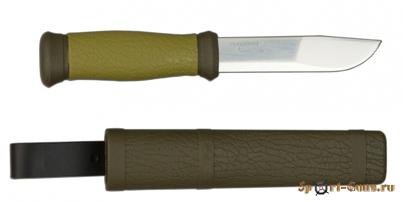 "Нож Outdoor 2000 ""MORA"" Green"