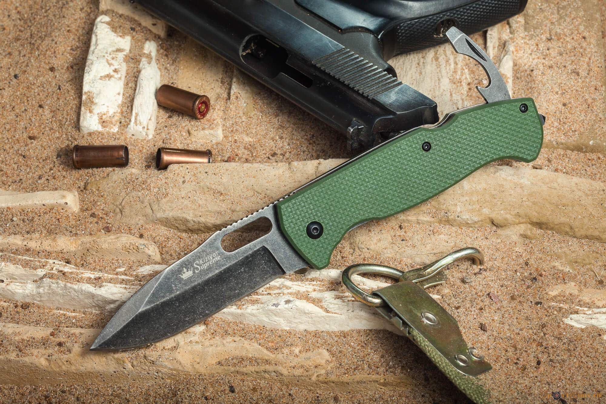 Нож UTE 440С Kizlyar Supreme