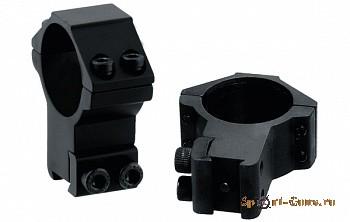 RGPM-30H4 Кольца Leapers AccuShot 30 мм  для установки на оружие с призмой 10-12 мм, высокие