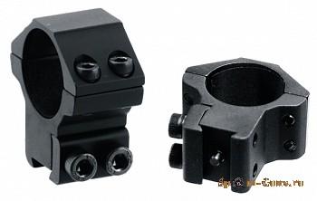 Кольца Leapers 25,4 мм для установки на оружие с призмой 10-12 мм, STM, средние
