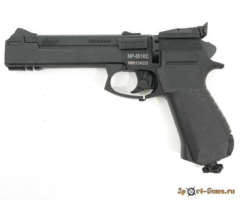 МР-651КС пневматический пистолет (Корнет) 30523