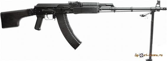 Макет (ММГ) Ручной пулемет Калашникова (РПК)