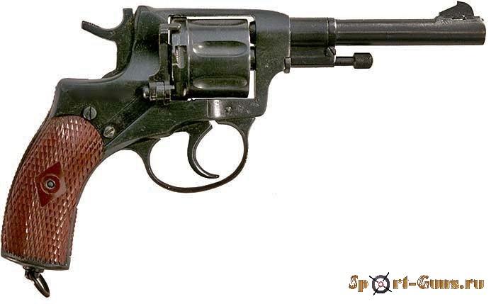 Оружие списанное охолощенное револьвер  Наган (ВПО-526)