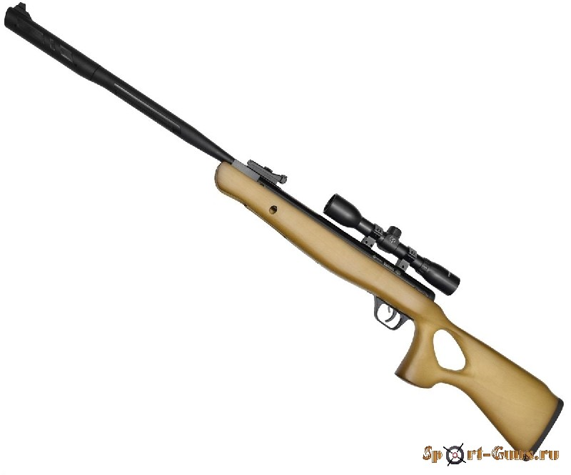 Пневматическая винтовка Crosman Valiant (переломка, дерево, NPE, SBD, прицел 4*32), кал. 4,5мм 8-CVH
