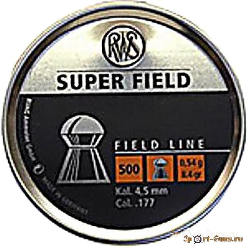 Пули RWS Super Field  (500шт.)
