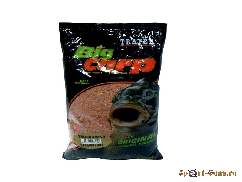 TRAPER Big Carp Strawberry Земляника 1кг