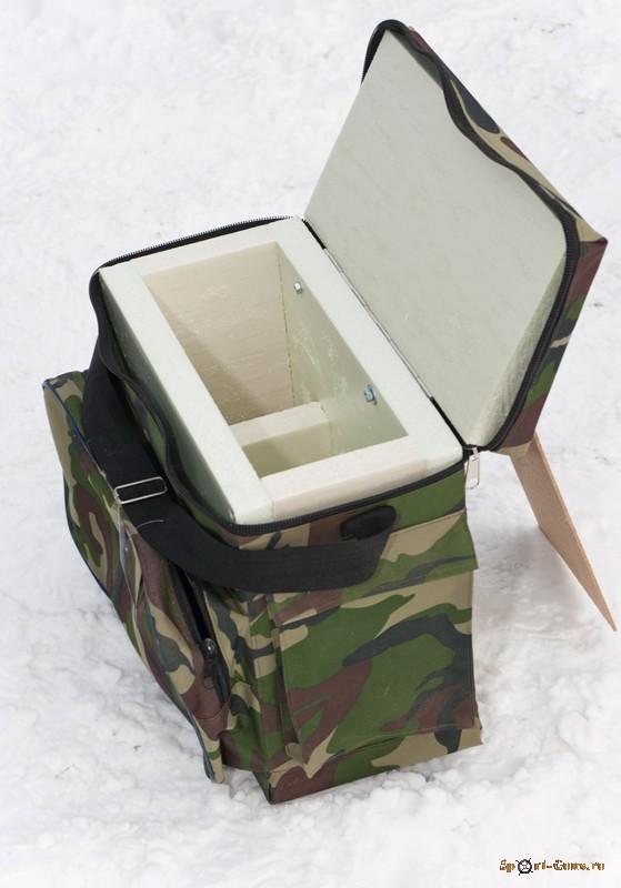 Рыболовный ящик пенопластовый (30мм 3 кармана)