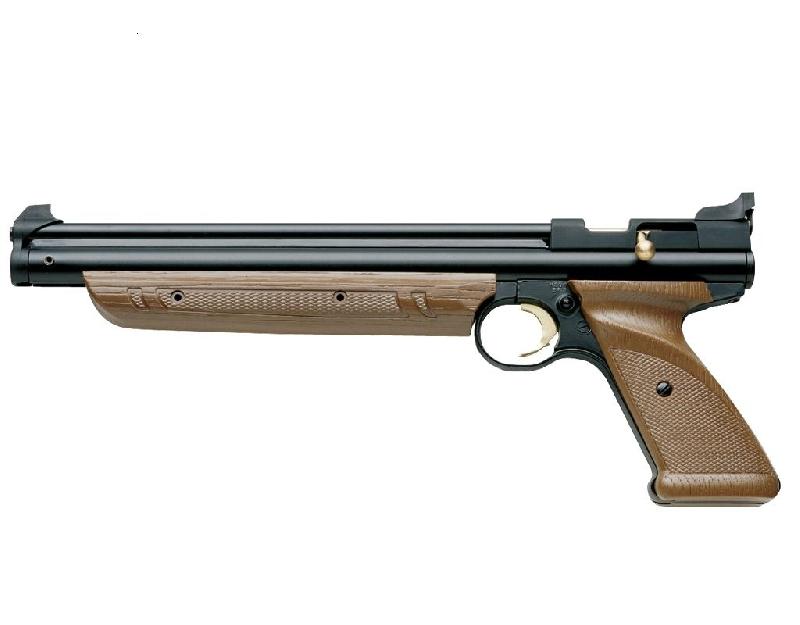 Пистолет пневм. Crosman P1377BR American Classic Brown (накачка), кал.4,5 мм