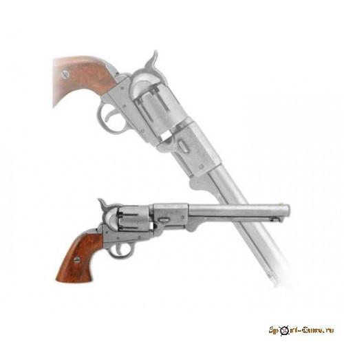 Револьвер морск.офиц. США сист.Кольт,1851г,сталь