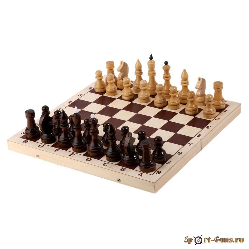 Шахматы турнирные утяжеленные, арт. E-2