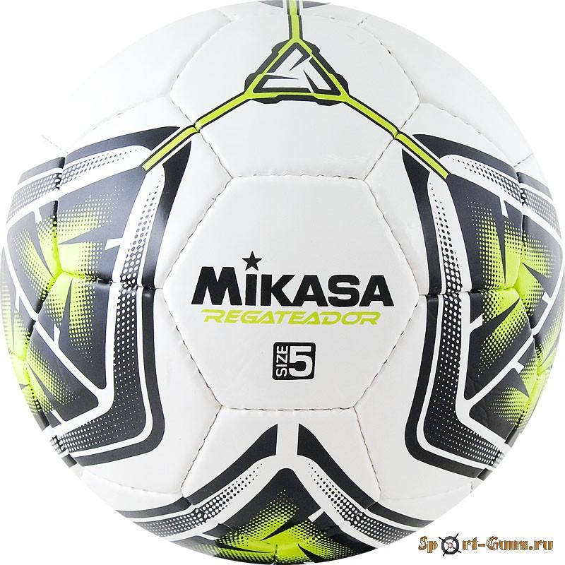 Мяч футбольный №5 MIKASA REGATEADOR5-G (ПВХ)