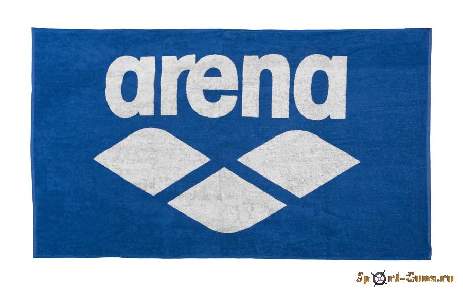 Полотенце Arena 19 20 POOL SOFT TOWEL 90x150 royal-white