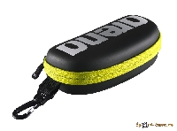 Чехол для очков Arena 20 GOGGLE CASE black-silver-fluo yellow 1E048 503