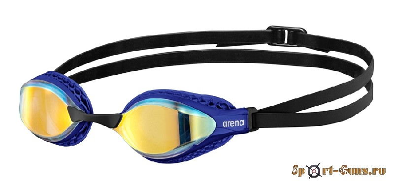 Очки для плавания Arena AIRSPEED MIRROR 003151 203 yellow copper-blue
