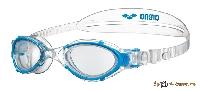 Очки для плавания ARENA NIMESIS CRYSTAL WOMAN 1E781 017 clear-clear-lightblue