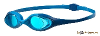 Очки для плавания ARENA Spider JR 92338 78 blue-lightblue-blue