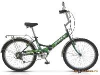 Велосипед Pilot-750 24 6-ск., складной, рама сталь (17кг)