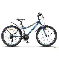 Велосипед Navigator-410 V 24 21-sp (13 Тёмно-синий/жёлтый)
