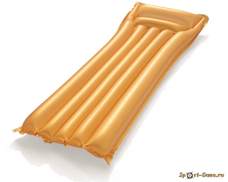 Матрас надувной Золото 183х69см, до 90кг BestWay 44044