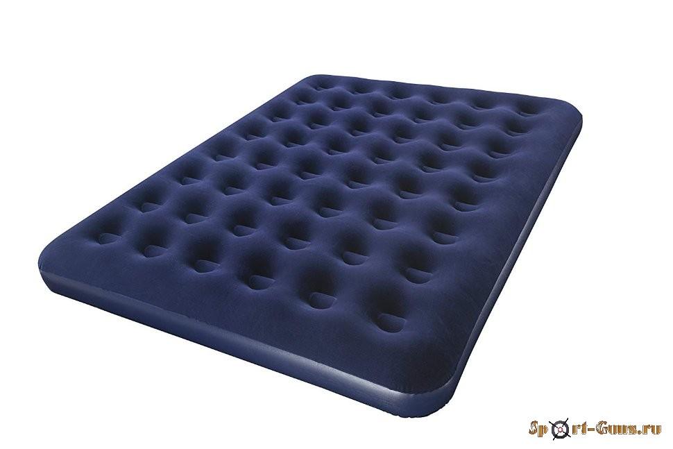 Матрас ортопедический флокированный синий 152x203x22см BestWay 67003