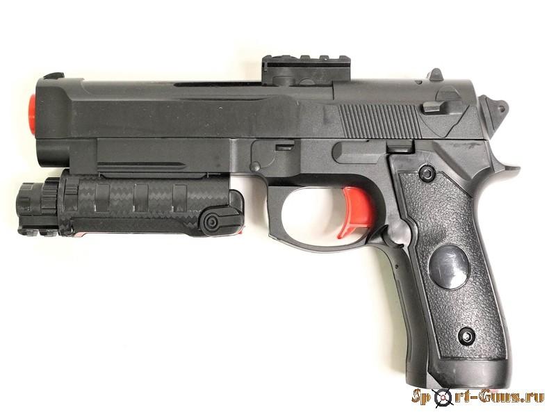 Пистолет Angry Ball M92 Black