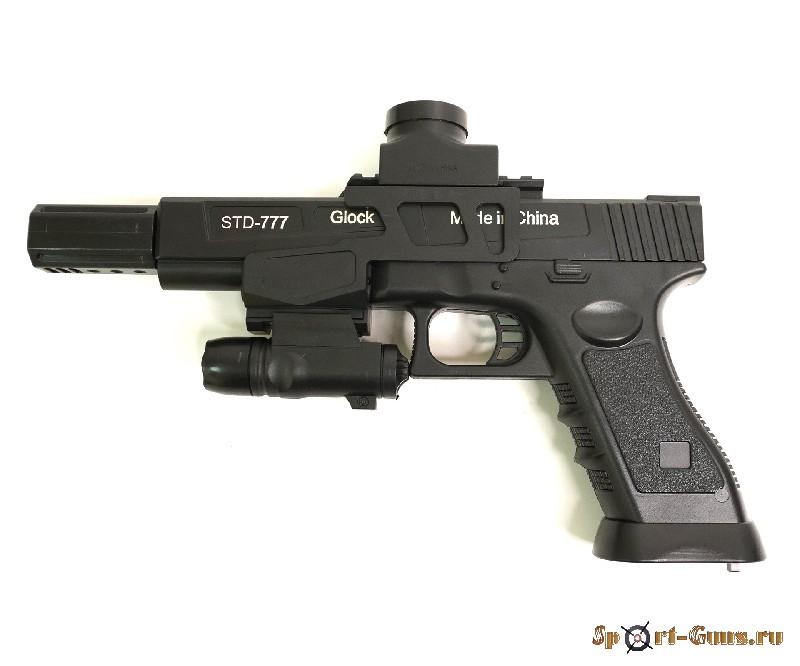 Пистолет Angry Ball Glock (777)